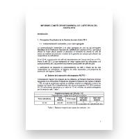 Informe de gestión 2014