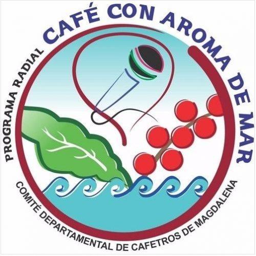 LOGO CAFE CON AROMA DE MAR